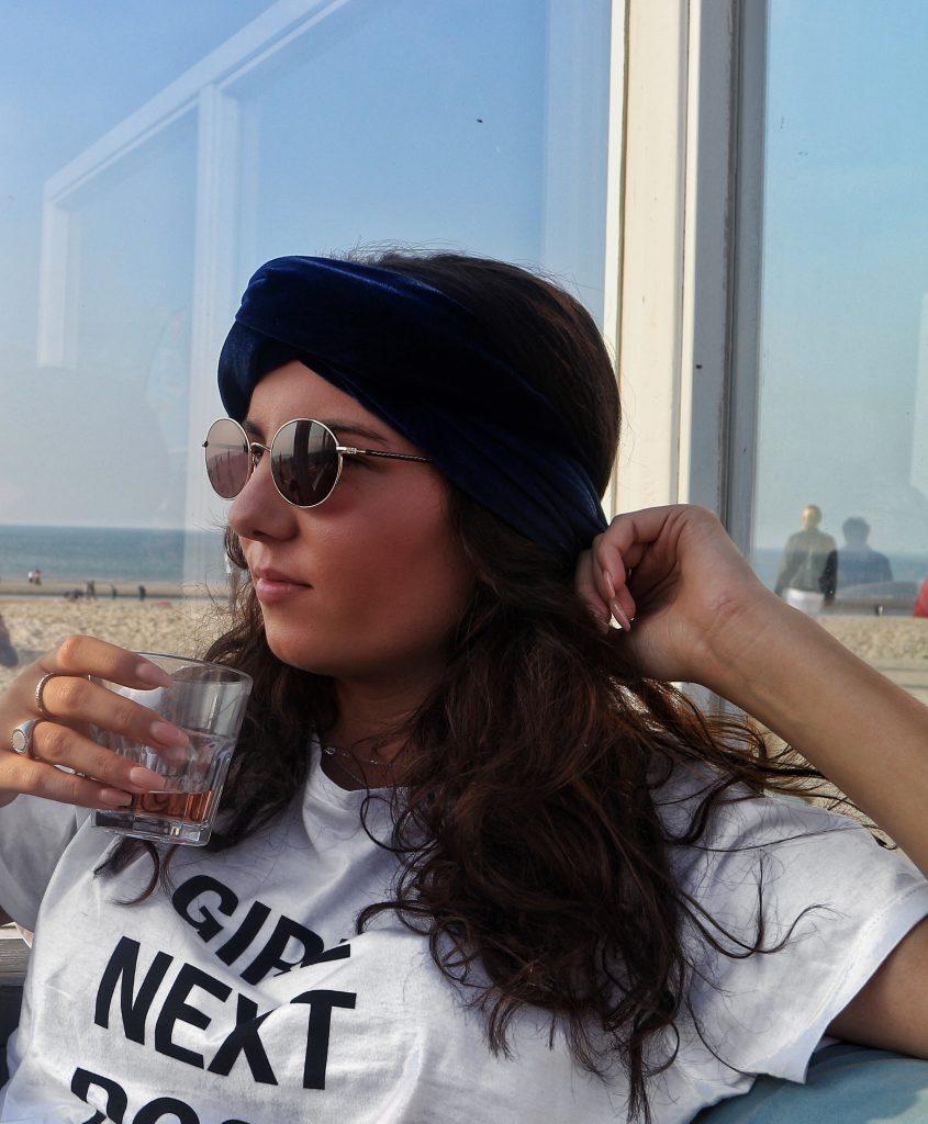 mode stijlen lage kosten hoogwaardige sportkleding Le Rouge Fashion - Velvet haarband - NonstopNikki.nl